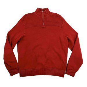 Polo Golf Ralph Lauren Sweater Men's Large Red EUC